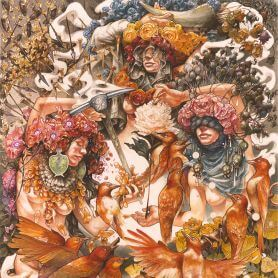 Baroness – Gold & Grey